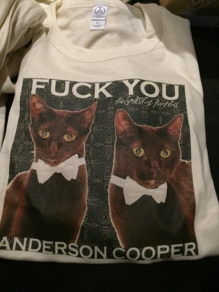 F-ck you Anderson Cooper T-shirt by Smashing Pumpkins