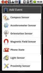 Amarino control app - addEvent