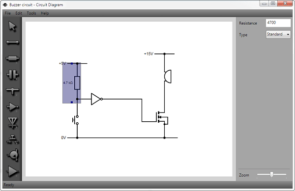 free circuit diagram drawing software horn wiring with relay useful tools for electrical circuits smashing robotics is a windows which allows you to exactly what its name implies diagrams