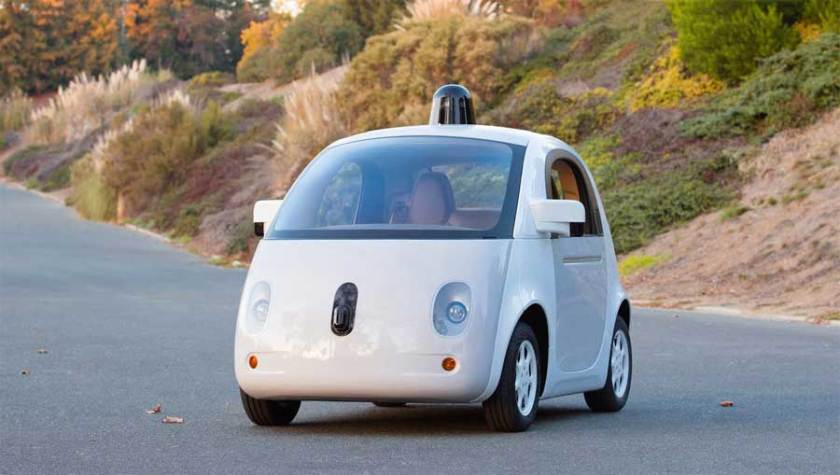 Google Self-Driving Car Finished Prototype