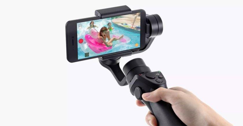 DJI Osmo Mobile handheld smartphone stabilizer