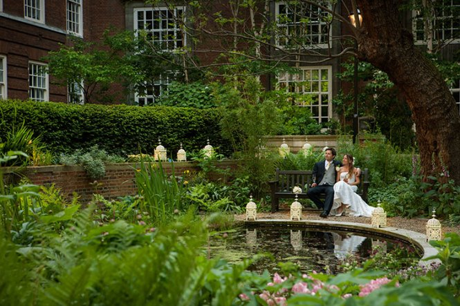 Bma House Weddings Garden