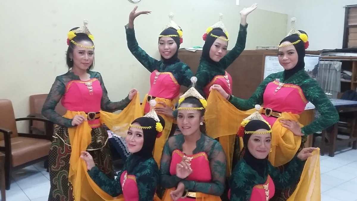 Ekstrakurikuler Tari di SMA GAMA Yogyakarta, jadi sarana tepat bagi siswa salurkan bakat dan pembentukan karakter