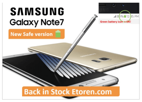 Etoren.com Galaxy Note 7