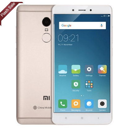 Redmi Note 4 China Mobile