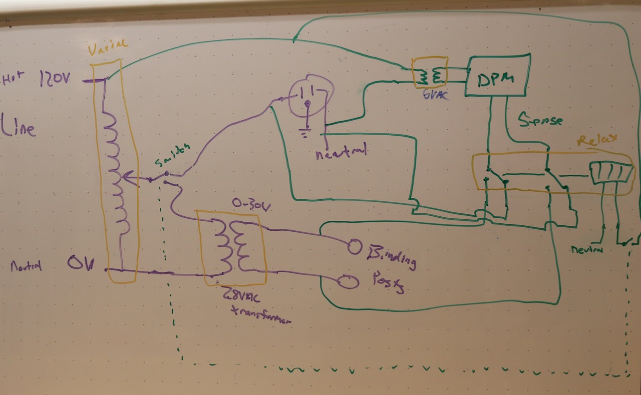 hight resolution of variable ac power supply white board schematic
