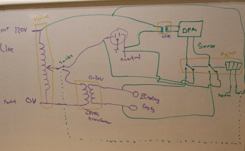 small resolution of variable ac power supply white board schematic