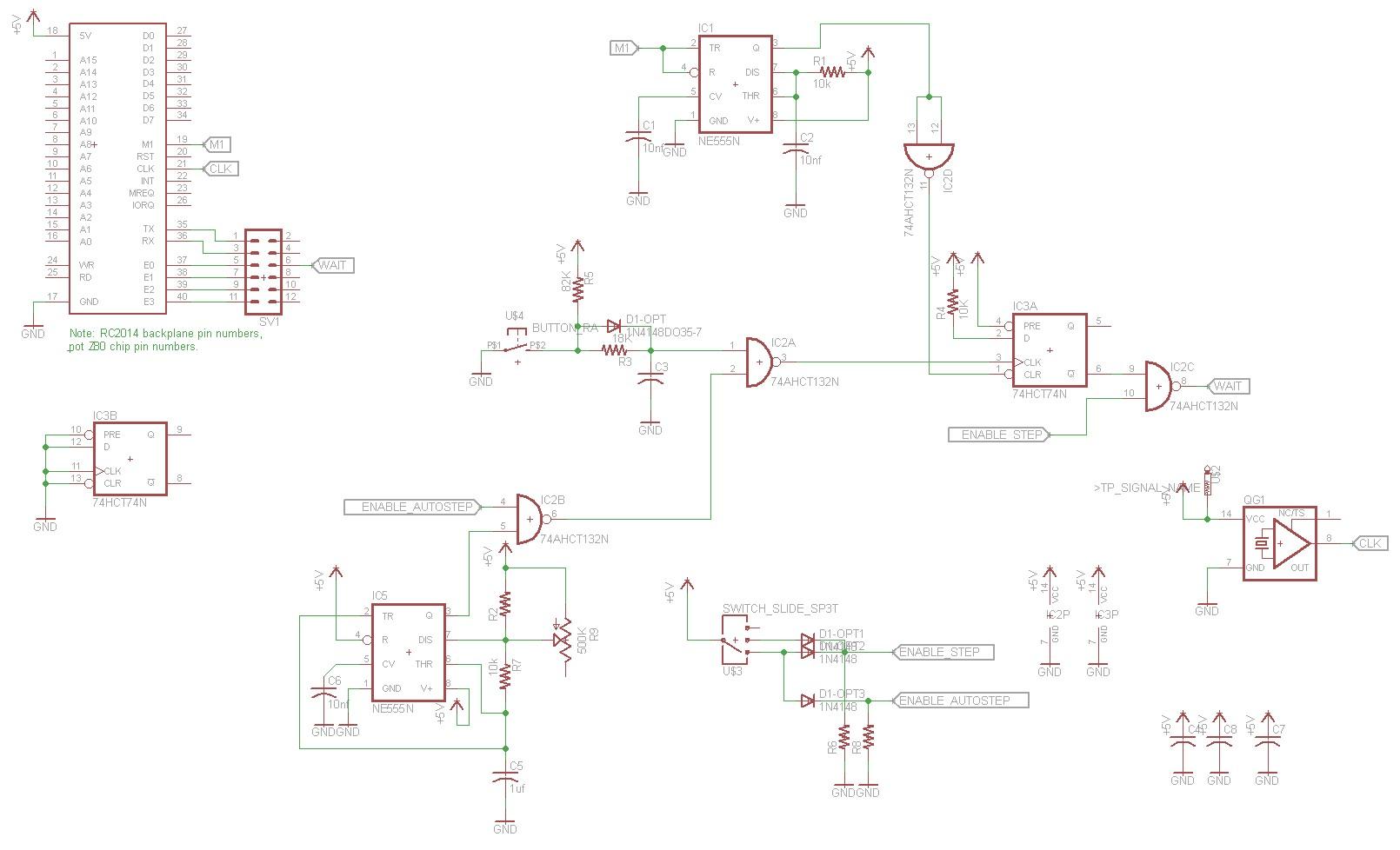 Z80 Retrocomputing 5 – Single Stepper for RC2014