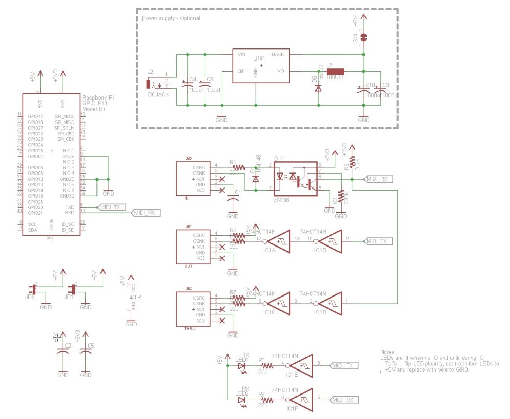 medium resolution of raspberry pi midi hat building a raspberry pi midi jukebox dr raspberry pi circuit diagram raspberry pi atari wiring diagram