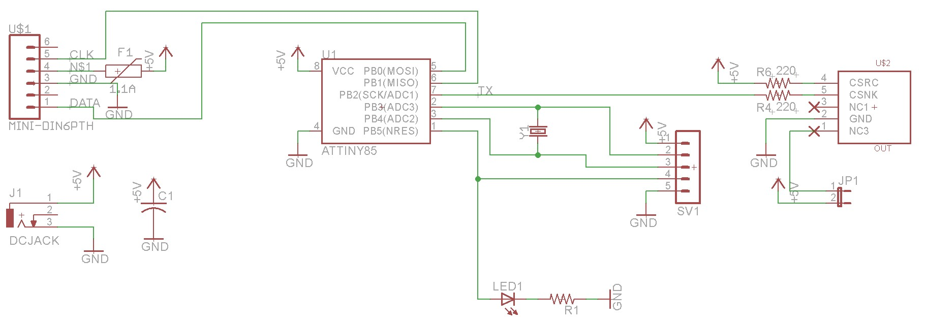 Keyboard P 2 Connector Wiring Diagram - wrg 4423 male usb to