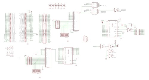 small resolution of isa diskonchip board schematic