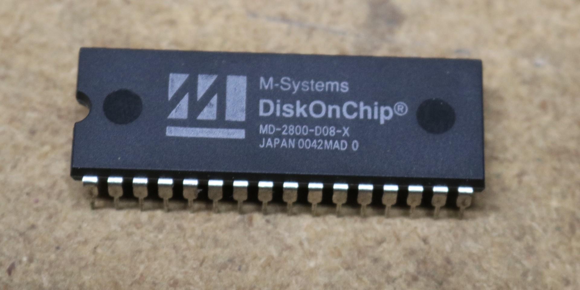 hight resolution of diskonchip md2800 8 megabytes