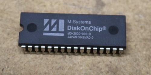 small resolution of diskonchip md2800 8 megabytes