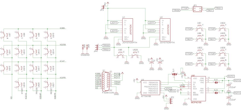 medium resolution of homemade atari 5200 analog controller dr scott m bakeratari game controller wiring diagram 18
