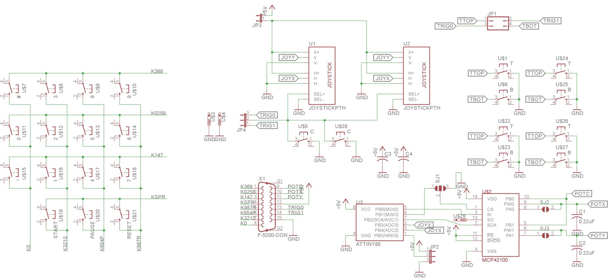 hight resolution of homemade atari 5200 analog controller dr scott m bakeratari game controller wiring diagram 18