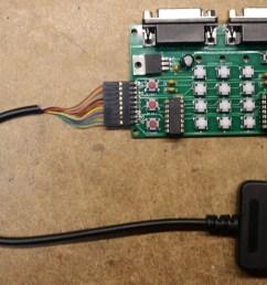 atari 5200 ps2 controller adapter assembled [ 1920 x 1333 Pixel ]