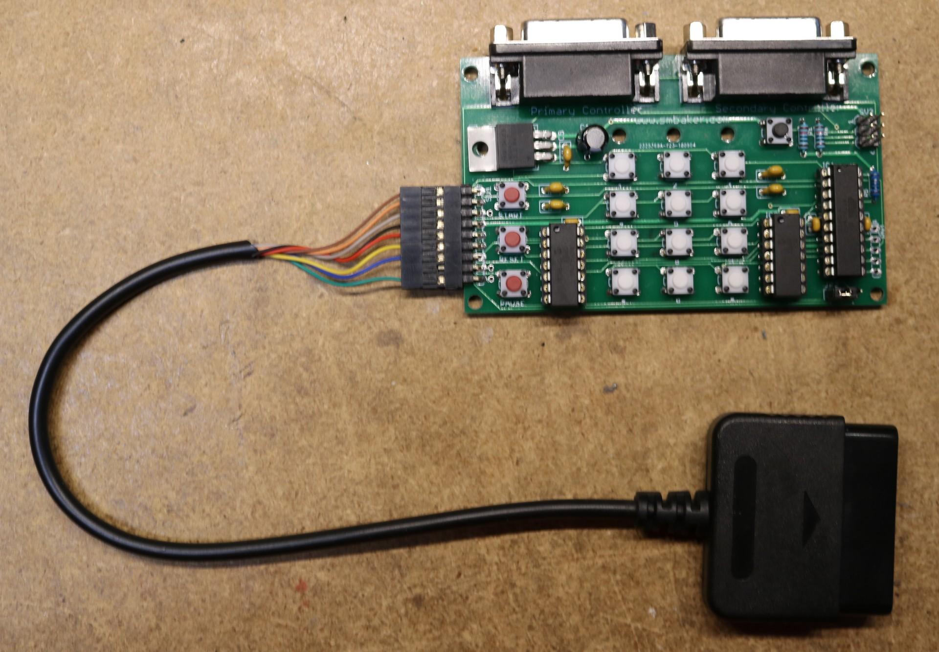 hight resolution of atari 5200 ps2 controller adapter assembled