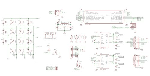 small resolution of atari 5200 ps2 controller adapter schematic
