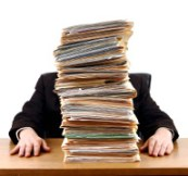 managing a heavy business workload