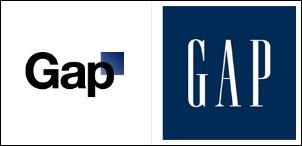 Gap logo changes
