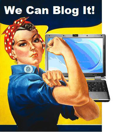 We can blog it!