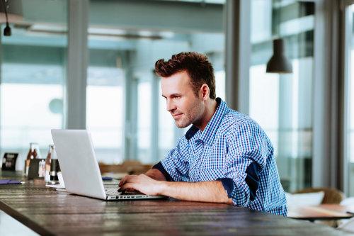 Working on online marketing tactics