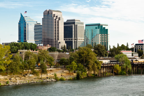 Downtown Sacramento, California