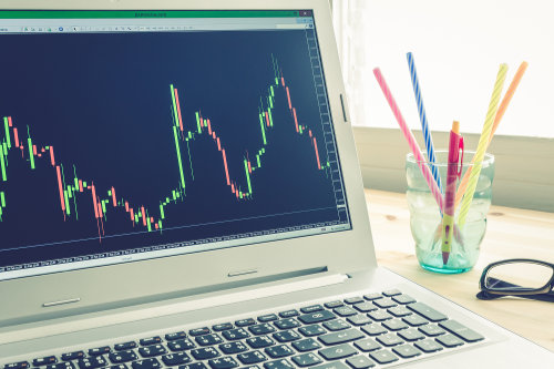 Forex trading using trading software