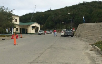 Argentina to Chile Border Crossing: Paso Dorotea