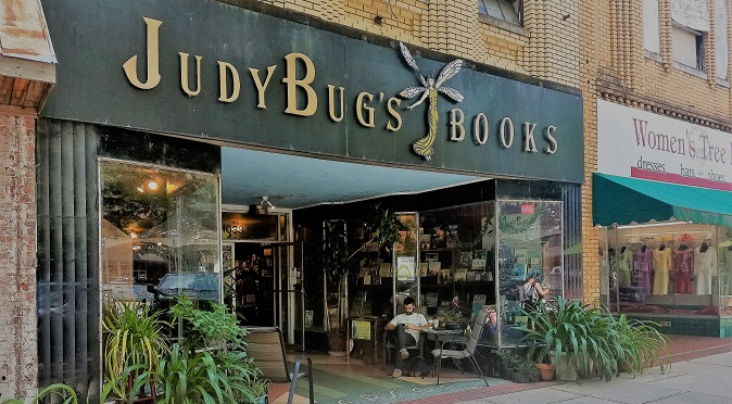 IMAGE of Small Business Judy Bug's Books Storefront Columbus GA