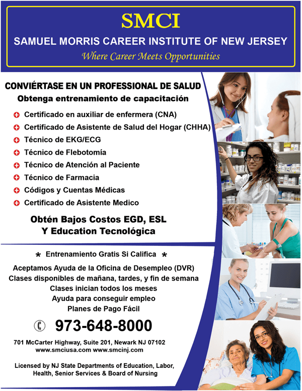 Medical and IT Training in Downtown Newark NJ  CNA PCT Medical Assistant Phlebotomy Computer