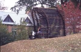 Site-specific installation sculpture, Infidel, by Craig Pleasants