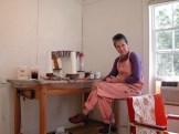 Artist Suny Monk in Studio