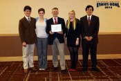 Students at the national competition.