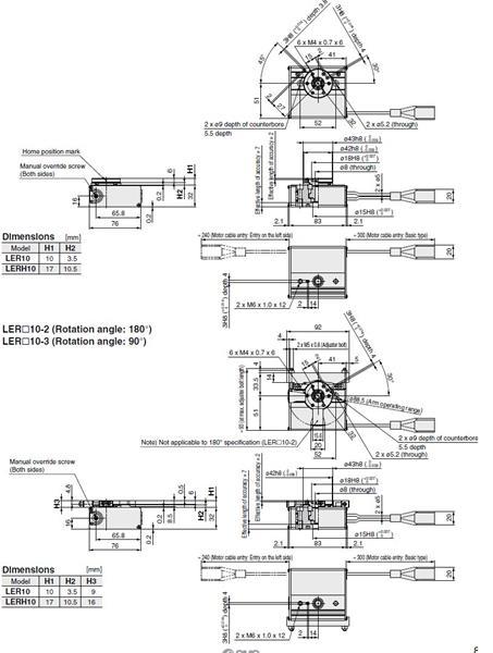SMC LERH10K-3 actuator, electric, slider, ELECTRIC ACTUATOR
