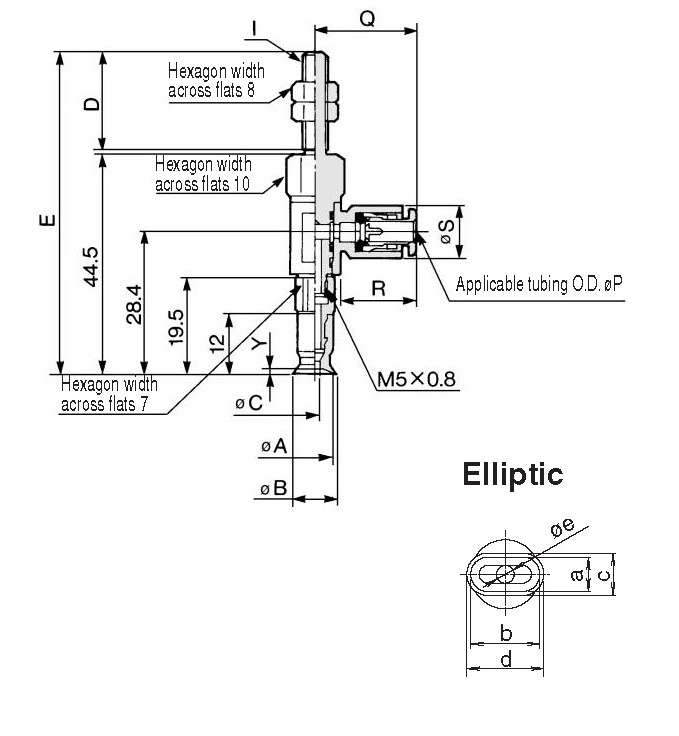 SMC ZPR02UN-06-A5 vacuum pad (flat) w/o buffer, ZP VACUUM