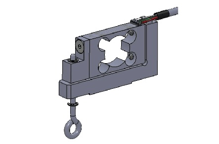 load cell overload proof assembly