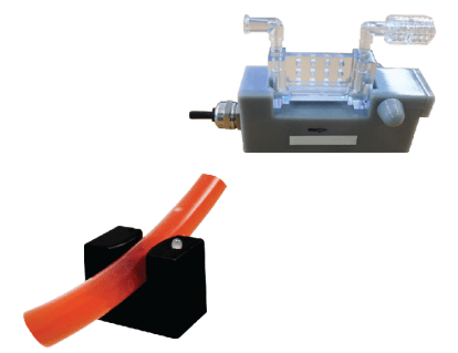 bubble and flow sensors for single use systems
