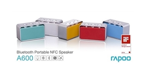 Rapoo Unveils NFC Enabled Speaker