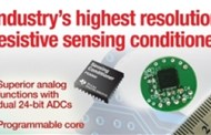 TI introduces the highest resolution resistive sensing signal conditioner