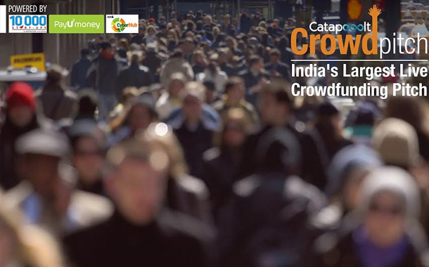 Catapooolt hosts Crowdfunding pitch in Gurgaon