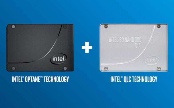 Intel Optane Technology and Intel QLC NAND Technology Come Together on a Single Drive