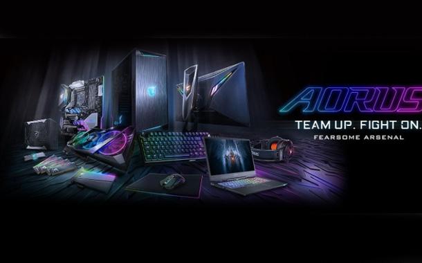 GIGA+BYTE Showcases AORUS Extreme Gaming PC and Monitor in Mumbai