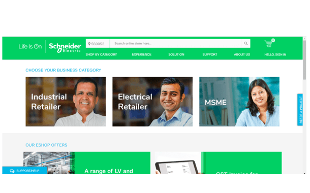 Schneider Electric Expands its Offerings on its E-Commerce Platform for India