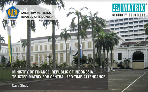 MATRIX PROVIDES COMPREHENSIVE PEOPLE MOBILITY SOLUTION TO MINISTRY OF FINANCE, INDONESIA