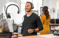 For A Great Flexible Work Experience, Choose The Poly Voyager 4300 UC Series Headset