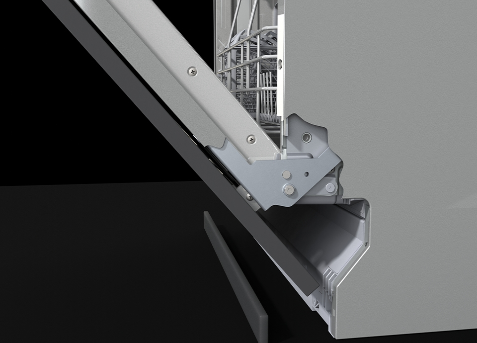 lave vaisselle silver stl66337l smeg fr