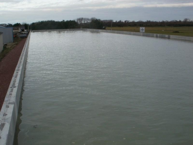 Réserve d'eau de mer du nouveau pompage de la zone d'activté de Blainville sur mer (@SMEL)
