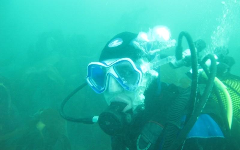 Vincent, nouveau plongeur au SMEL (SMEL)