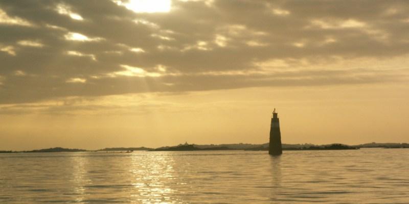 L'archipel de Chausey à marée haute (@SMEL)